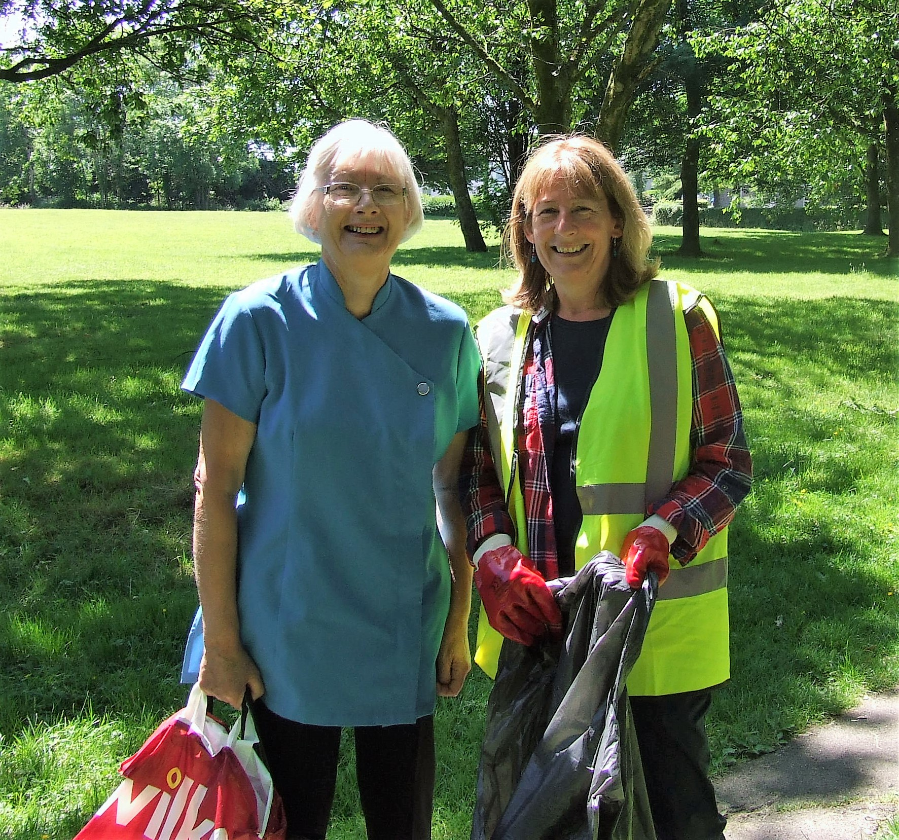 Litter picking adventures in Bishopston and Swansea Bay
